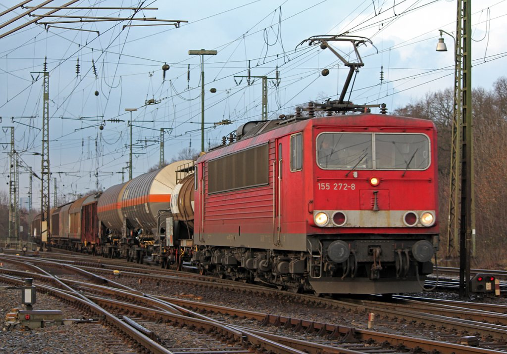 155 272-8 in Gremberg am 26.01.2011