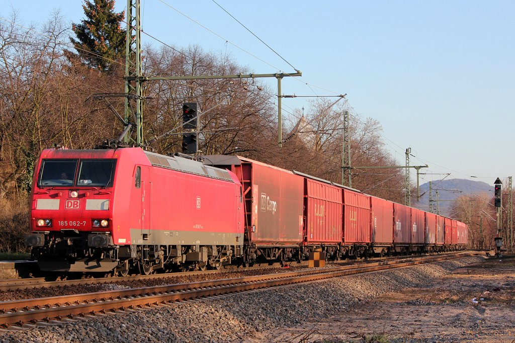 185 062-7 in Bonn Oberkassel am 19.03.2012