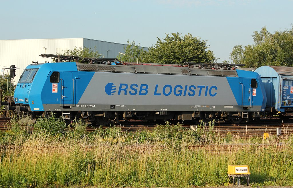 185 526-1  RSB Logistic  /HGK in Brühl Vochem am 26.06.2011