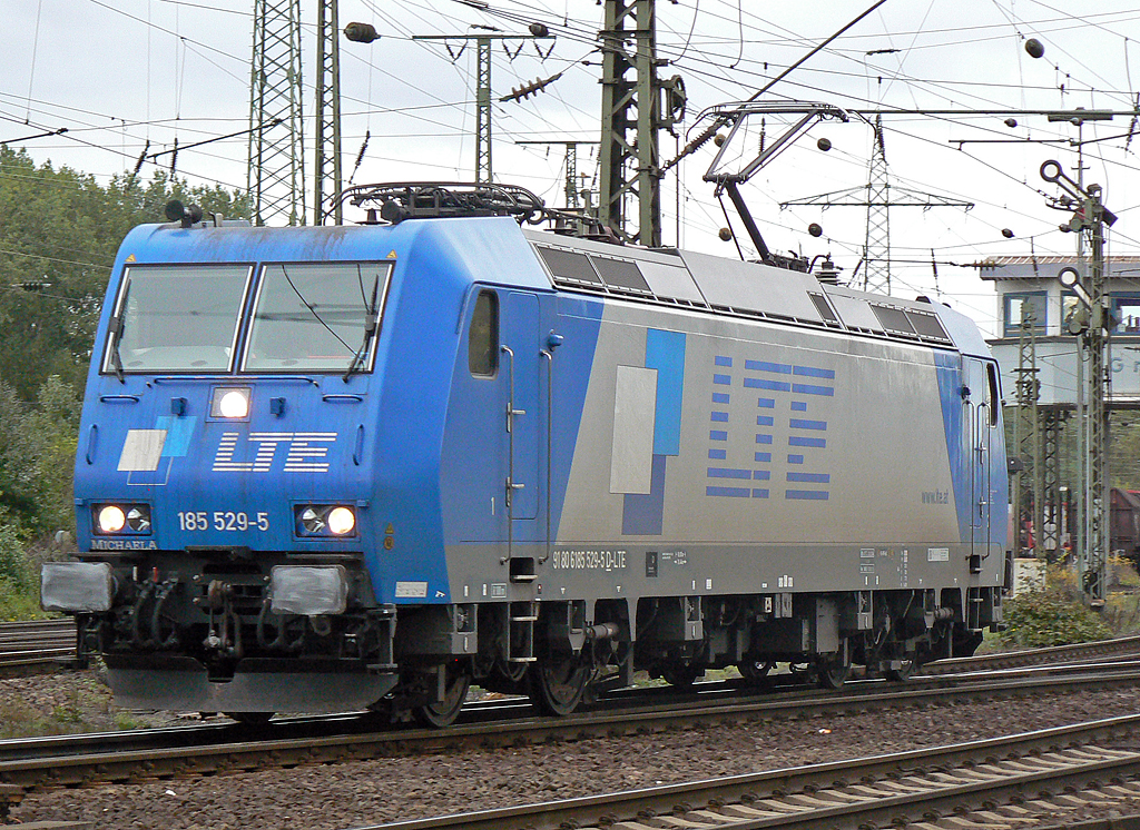 185 529-5  Michaela  der LTE in Gremberg am 05.10.2010