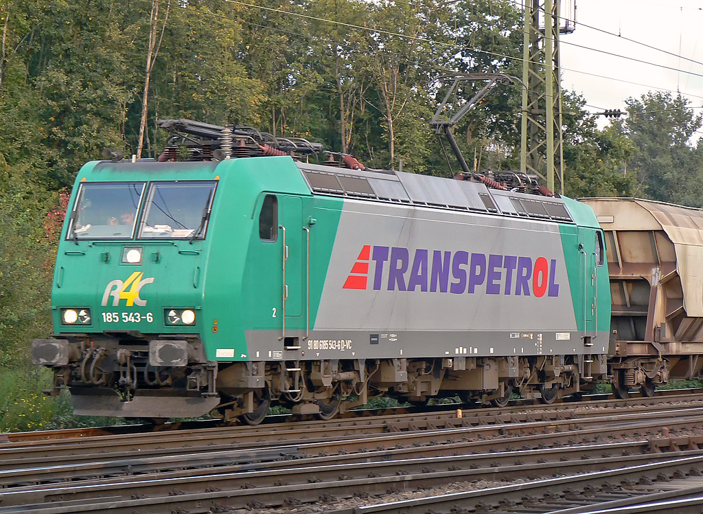 185 543-6 der R4C in Gremberg am 23.09.2010