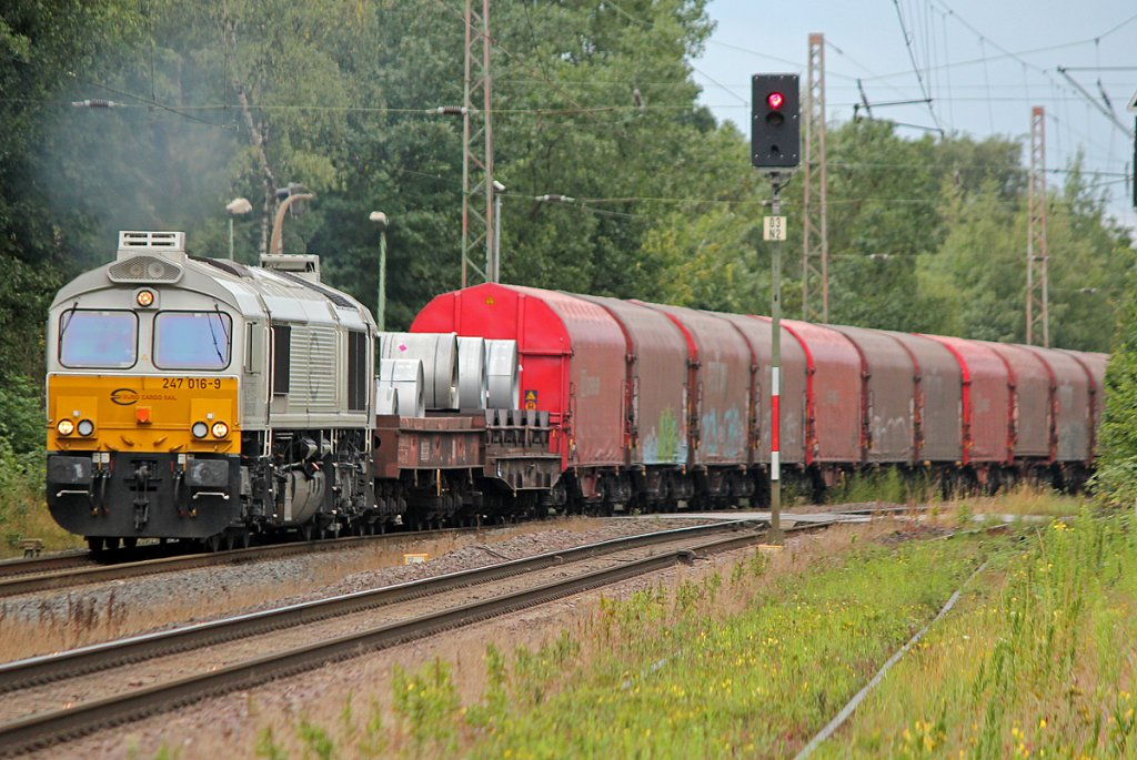247 016-9 in Ratingen Lintorf am 19.07.2011