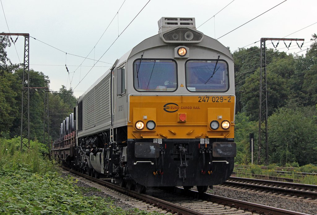 247 029-2 in Duisburg Neudorf am 25.07.2011