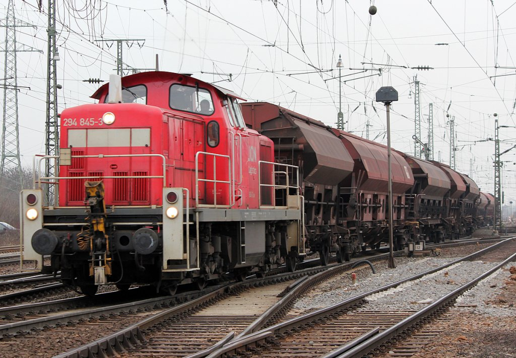 294 845-3 in Gremberg am 18.02.2011