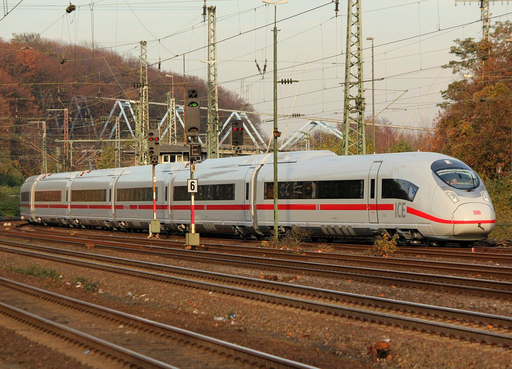 407 008 in Köln West am 19.11.2011