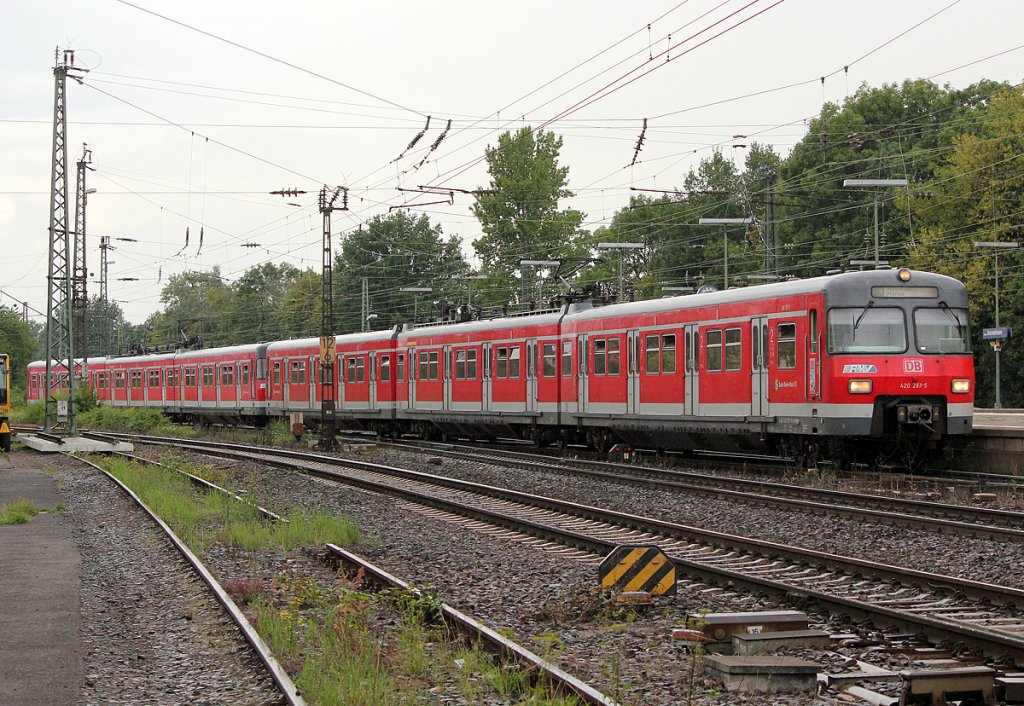 420 287-5 in Mainz Bischofsheim am 26.07.2011