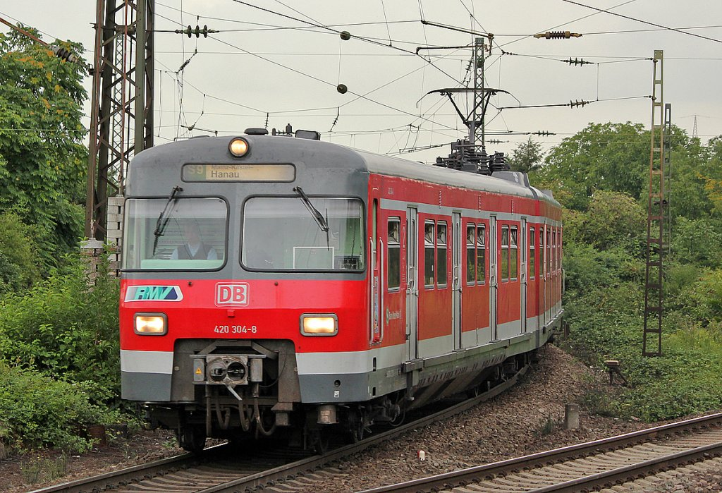 420 304-8 in Mainz Bischofsheim am 26.07.2011
