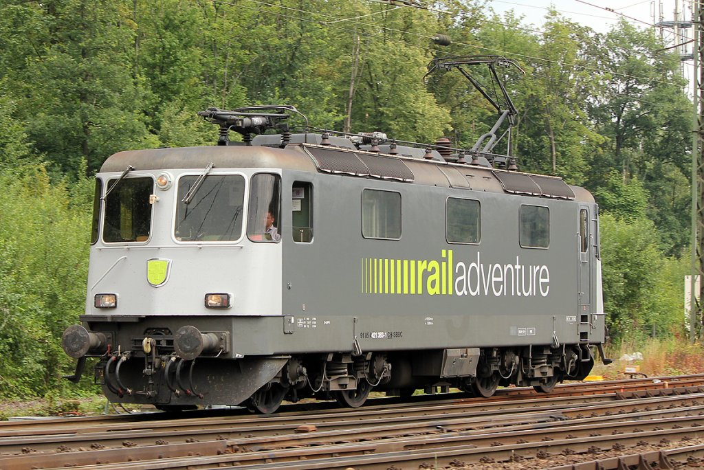 421 383  Railadventure  Lz in Gremberg am 26.06.2011