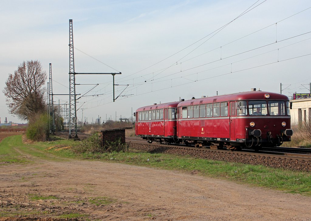 798 760-5 & 798 802-7 in Porz Wahn am 17.04.2013