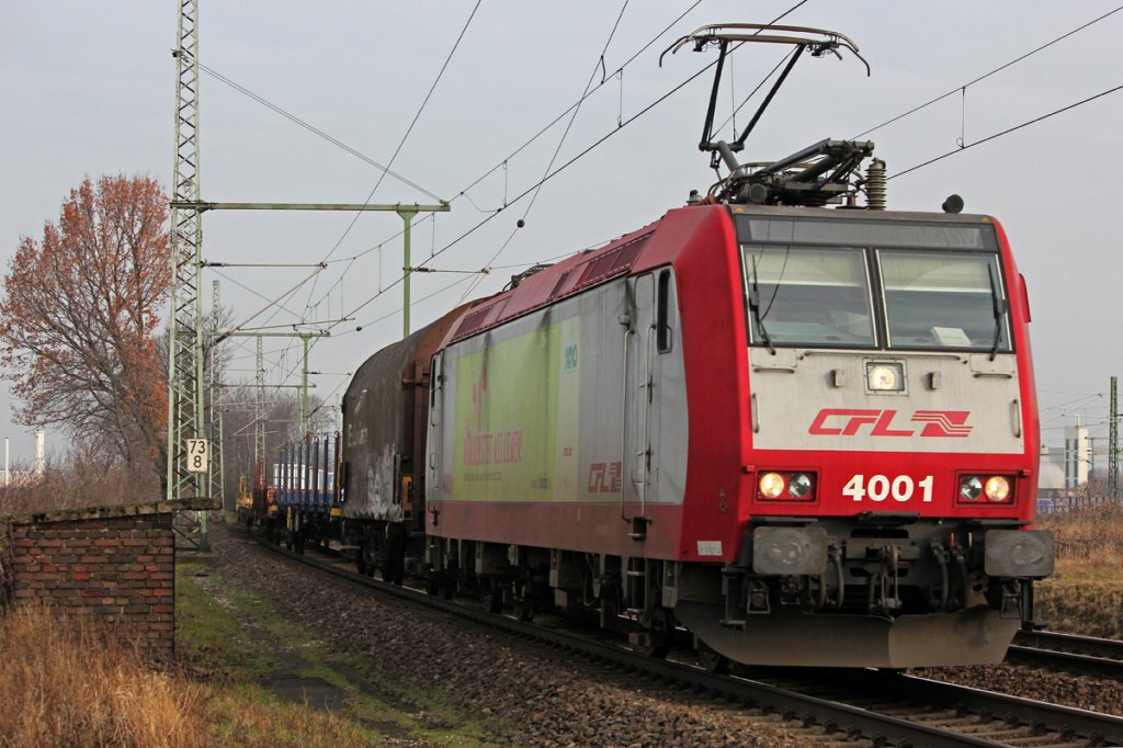 CFL 4001 in Porz Wahn am 09.03.2012