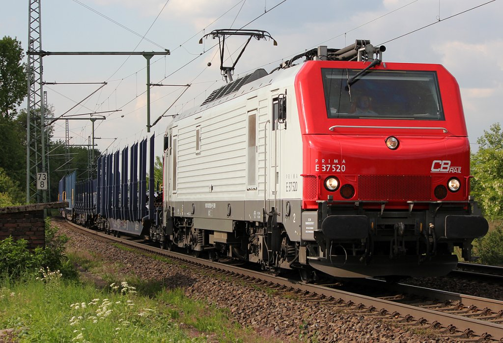 E37 520 in Porz Wahn am 04.05.2011