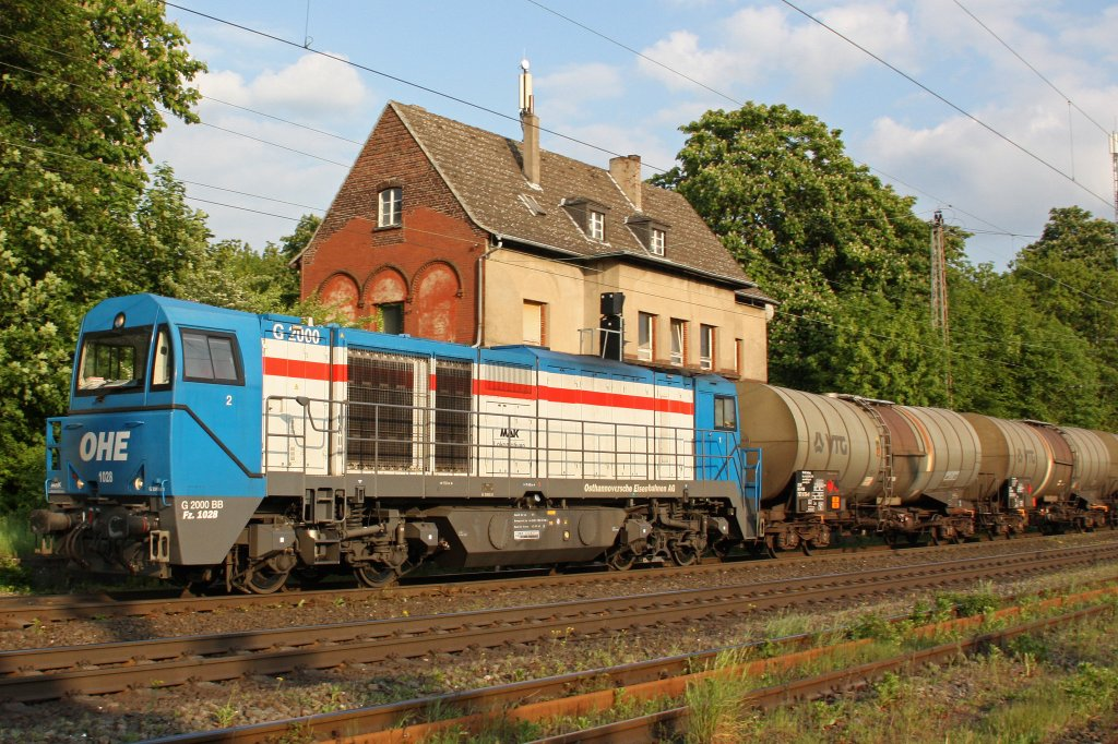 OHE 1028 am 21.5.10 in Ratingen-Lintorf