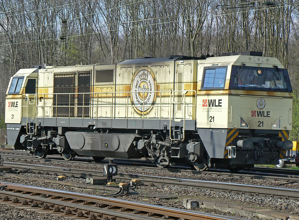 WLE 21 in Gremberg am 10.04.2010