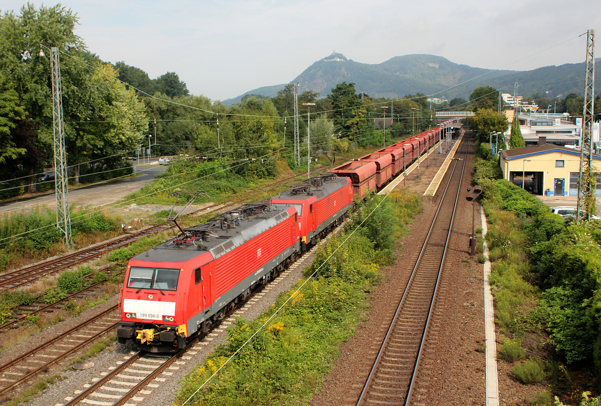 189 038-3 & 189 xxx-x in Bad Honnef am 07.09.2013