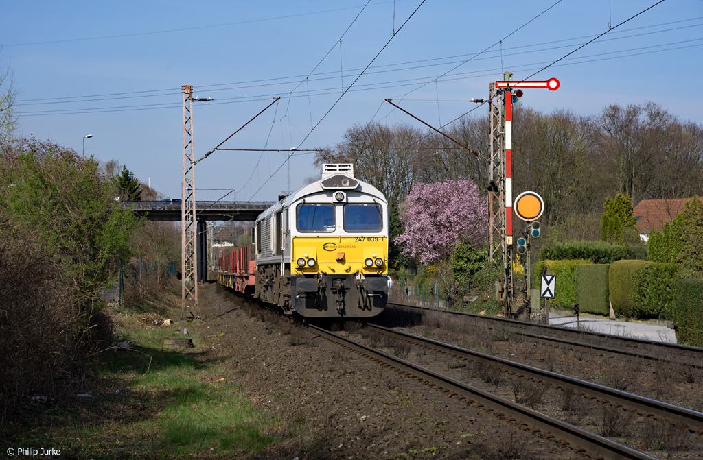266 439-9 am 26.03.2017 bei Ratingen West.