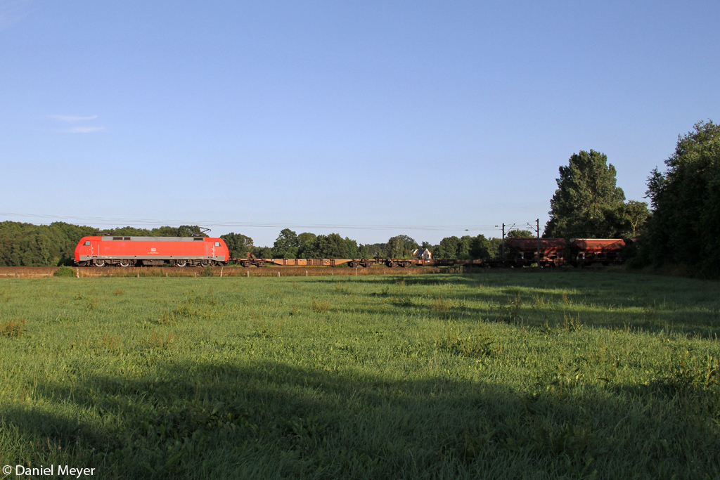 Die 152 119-4 in Ramelsloh am 01.08.2013