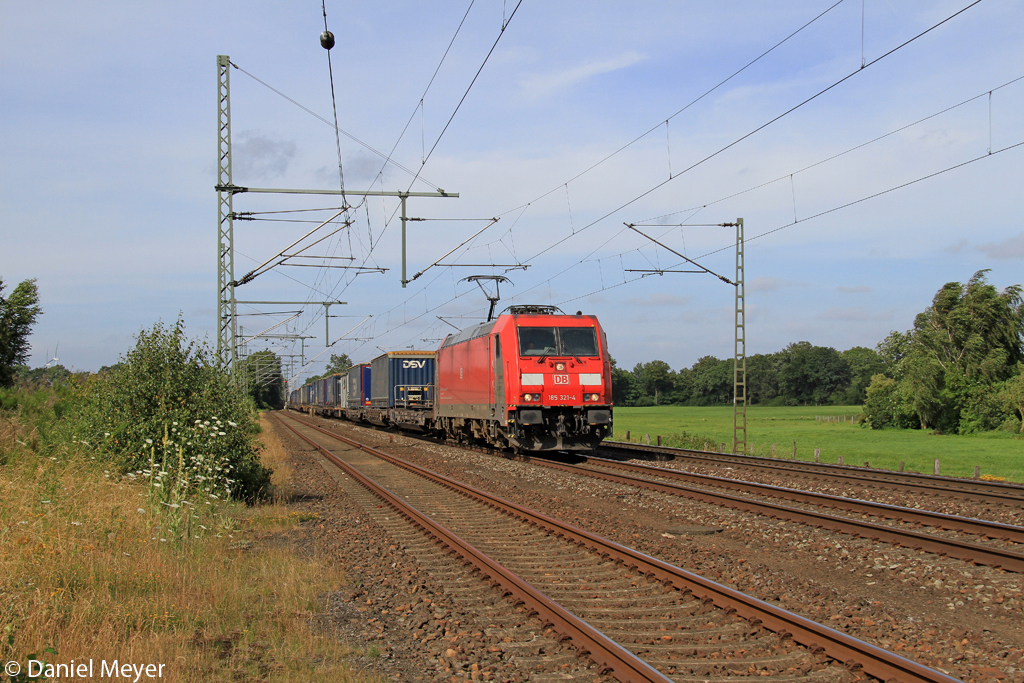 Die 158 321-4 in Wrist am 19.07.2013