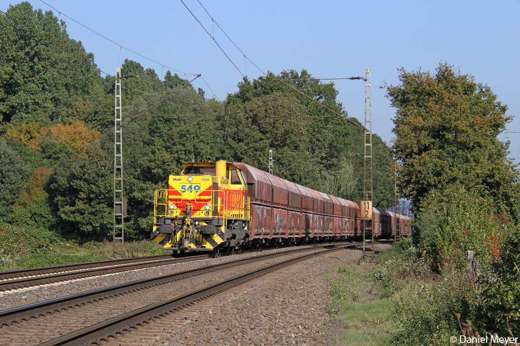 Die E&H 549 in Ratingen Lintorf am 01.10.2013