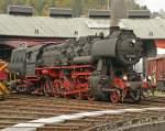 BR 52/44921/52-8106-im-suedwestf-eisenbahnmuseum-siegen 52 8106 im Südwestf. Eisenbahnmuseum Siegen im Okt.09