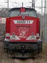 BR 203/58603/adam-11-christine-steht-abgestellt-in ADAM 11 'Christine' steht abgestellt in Troisdorf am 13.03.2010