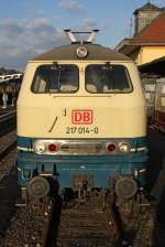 BR 217/109140/die-217-014-0-in-frankenberg-eder Die 217 014-0 in Frankenberg (Eder) am 24,10,10