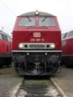 BR 218/100395/db-218-387-9-in-osnabrueck-am DB 218 387-9 in Osnabrück am 19.9.10