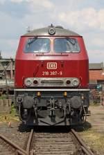 BR 218/173241/die-218-387-9-in-darmstadt-kranichstein-am Die 218 387-9 in Darmstadt-Kranichstein am 04,06,11