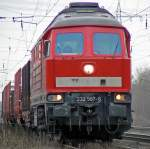 BR 232/59622/232-587-6-in-ratingen-lintorf-am-190310 232 587-6 in Ratingen-Lintorf am 19,03,10