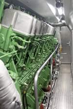 BR 263 Voith Maxima 30 CC/174480/der-dieselmotor-der-maxima-30-cc Der Dieselmotor der Maxima 30 CC 263 004-4 beim 150 Jahr AW Neumünster Fest am 18,06,11