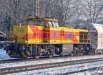 MaK G 1206/51470/lok-549-der-eh-in-ratingen-lintorf Lok 549 der E&H in Ratingen-Lintorf am 26.01.2010