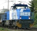 MaK G 1206/71078/500-1863-im-ersatz-fuer-die 500 1863 im Ersatz für die Neusser Eisenbahn in Ratingen Lintorf am 21.05.2010