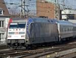 BR 101/56802/101-144-mit-dem-ic-2028 101 144 mit dem IC 2028 bei der Einfahrt in Köln Hbf. am 3.3.2010
