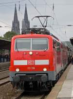 111 116 in Köln/Messe Deutz am 17.09.2010