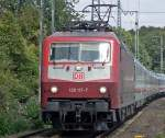 BR 120/45048/120-117-7-in-koeln-west-im 120 117-7 in Köln West im Sommer 09