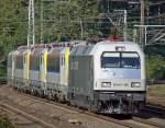 BR 127/95351/es-64-p-001-mit-4-belg ES 64 P-001 mit 4 belg. BR18 am Haken in Köln West am 20.09.2010