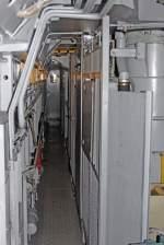BR 156/175277/blick-in-den-maschinenraum-der-meg Blick in den Maschinenraum der MEG 804 ( 156 004-4 ) beim Sommerfest im DB Museum / DB Regio Werk Halle (Saale) am 02,07,11