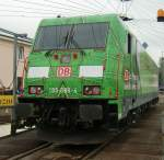 BR 185/103457/185-389-4-am-190910-in-osnabrueck 185 389-4 am 19.09.10. in Osnabrück.