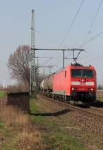 BR 185/186727/185-001-5-in-porz-wahn-am 185 001-5 in Porz Wahn am 23.03.2012
