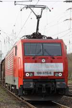 Die 189 070-6 in Gremberg am 07,04,10