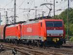 189 046-6 & 189 045-8 in Gremberg am 05.06.2010