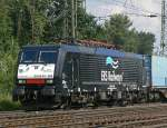 E189 099 / ES 64 F4 999  MIKE  der ERS Railways in Gremberg am 05.08.2010