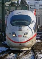 BR 403 ICE 3/54333/ice-3-bei-der-einfahrt-in ICE 3 bei der Einfahrt in Köln Hbf am 16.02.2010