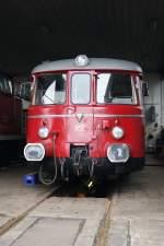 man-schienenbus/120894/rse-vt-25-steht-abgestellt-in RSE VT 25 steht abgestellt in Beuel im RSE Werk am 15.2.2011