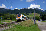 1442 151-5  ET 151  als SWE 72528 (Münstertal - Bad Krozingen) am 18.07.2016 in Münstertal.