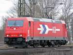 185 631-9 als Lz in Gremberg am 25.2.2010