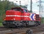 HGK Hafen - Und Guterverkehr Koln/90169/dh705-verlaesst-gremberg-als-lz-am DH705 verlässt Gremberg als Lz am 24.08.2010