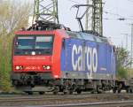 482 001-5 der SBB Cargo in Gremberg am 15.04.2010